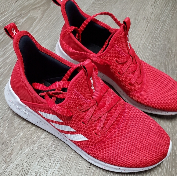 Women's Adidas Red Tennis Shoes 8.5